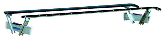 Pier Pleasure's full-length V-Bunks provide maximum support for your boat.