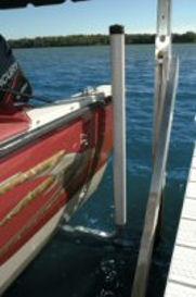 Pier Pleasure Boat Lift Centering Guides